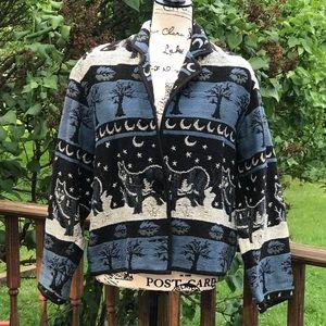 New Identity winter wolf sweater